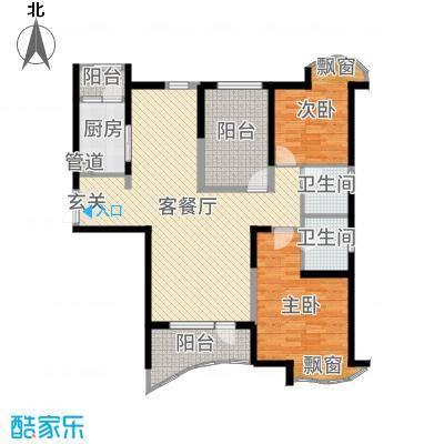 名流公馆134.56㎡G6户型3室3厅2卫1厨
