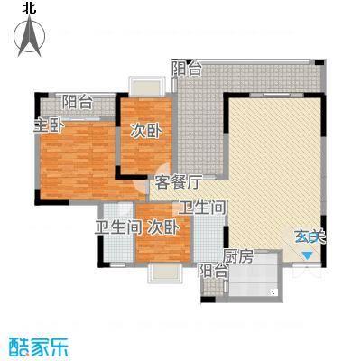 皇庭・御珑湾215.20㎡20100525_102434户型