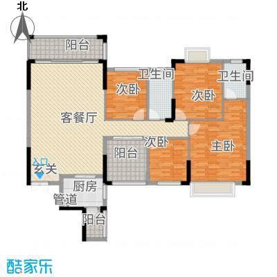 皇庭・御珑湾215.20㎡20100525_102544户型