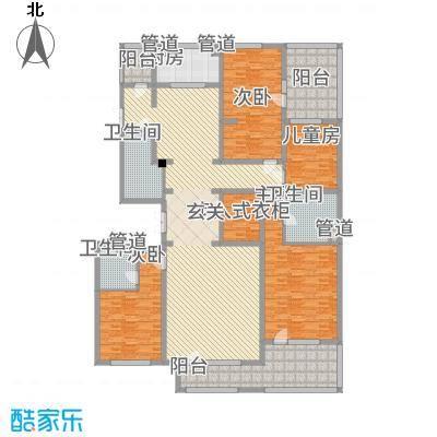 国信美邑四期H顶层户型