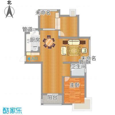 蓝天新苑12、13、17#标准层O户型-副本