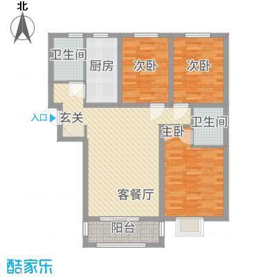 恒祥・彩虹城B3户型