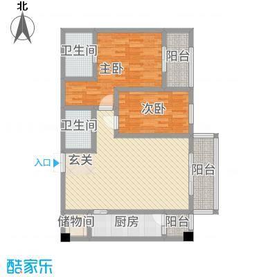 中力广场15.53㎡A区户型