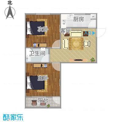 灵响小区-2房-9栋06单元--彩图