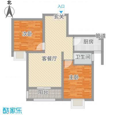 香山听语二期1.70㎡18#户型