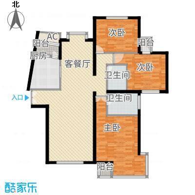 海逸长洲恋海园156.00㎡3面积15600m户型-副本