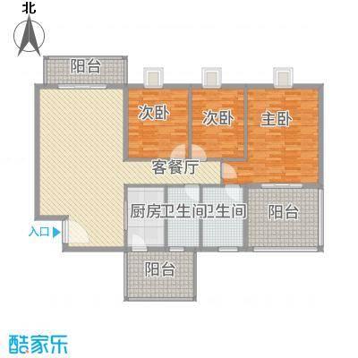 海逸长洲恋海园174.00㎡3面积17400m户型-副本-副本