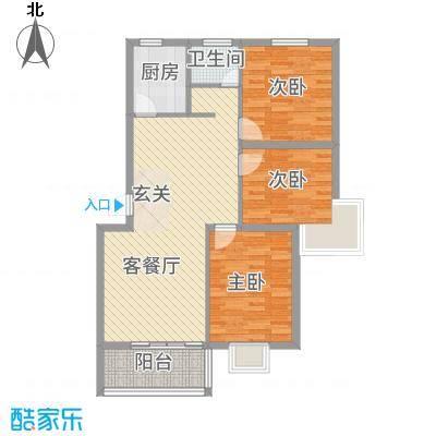 万泰颐轩15.31㎡日照户型