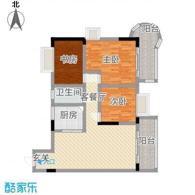 香港街118.00㎡户型3室