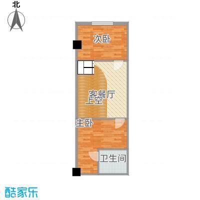 阳光VISA户型2室