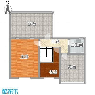 金科花园14.00㎡户型3室2厅1卫1厨