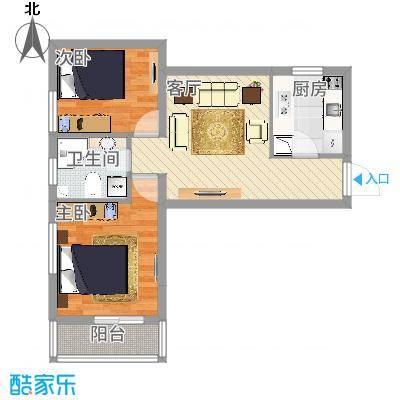 太原_龙康新苑南区1号楼A户型