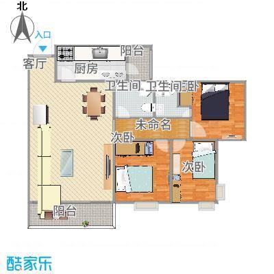 中山_丽港城凯德公馆_2015-10-27-1610家里设计