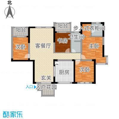 中国国际服装城154.00㎡户型