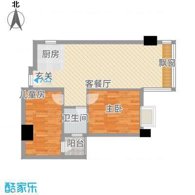 世博领寓122.00㎡户型3室
