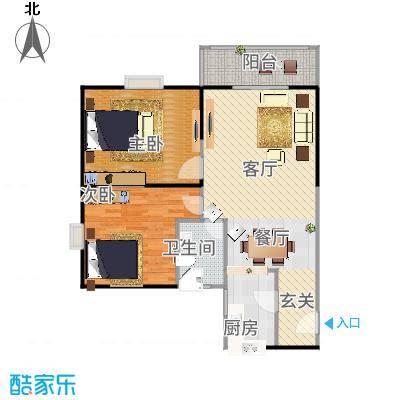 鼎盛国际公寓90.00㎡--200套户型-副本