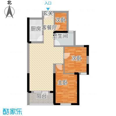 航宇・长江国际1.55㎡单页户型