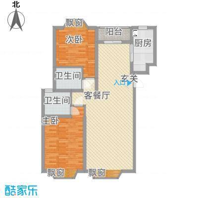 湘子嘉园户型2室