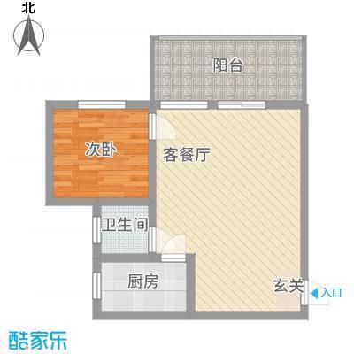 湘子嘉园户型1室