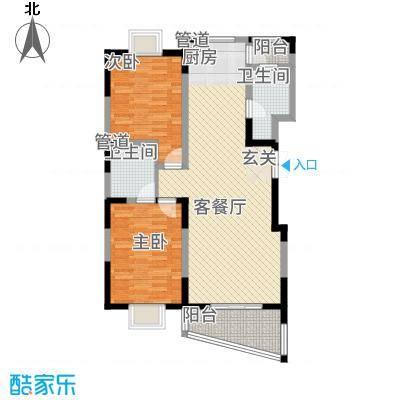 奥体中心公寓111.60㎡C户型3室2厅2卫