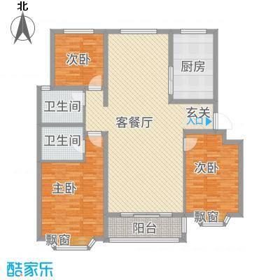 和平银座户型3室