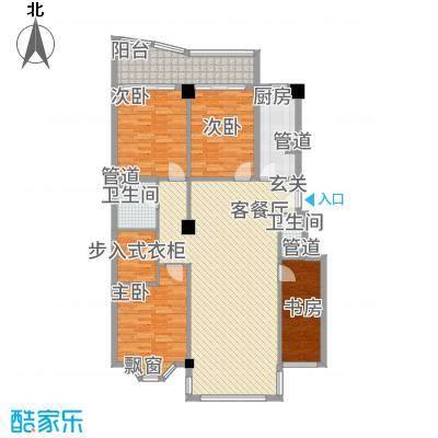 沁水景苑17.00㎡户型5室