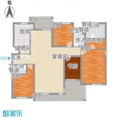 星屿仁恒户型2室