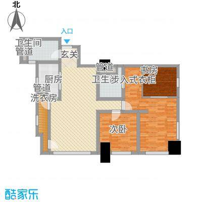 公园壹号国际公寓13.11㎡常州户型