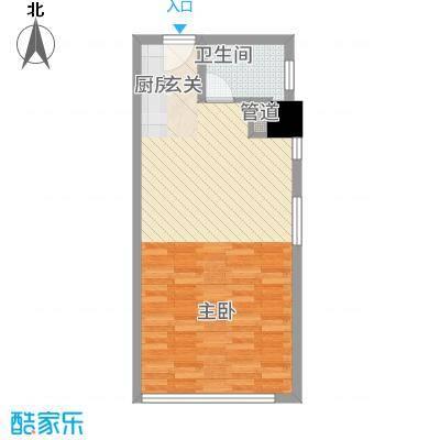 公园壹号国际公寓5.57㎡常州户型