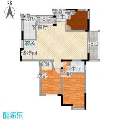 金王府户型3室
