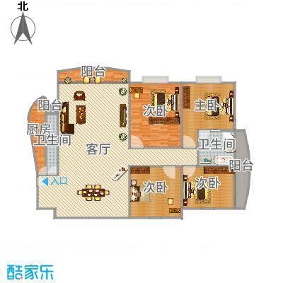 建东大厦05户型图