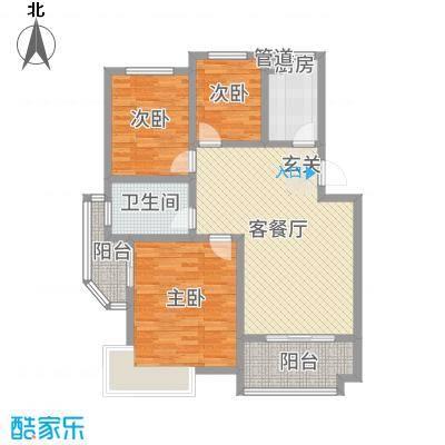 锦汇苑14.70㎡户型3室