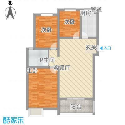 锦汇苑14.00㎡户型3室
