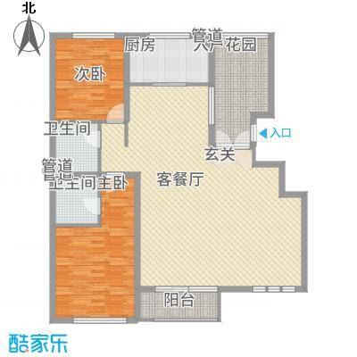 华夏・铂宫136.60㎡12#C2a户型-副本