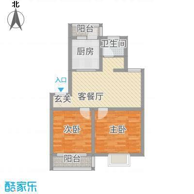 家春秋75.62㎡户型2室