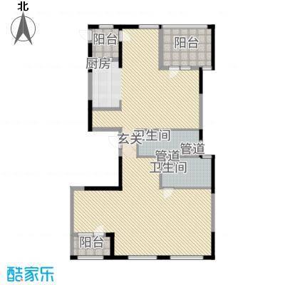 银马公寓户型3室