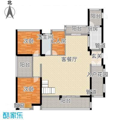 铭泰锦山16.51㎡三栋、四栋叠翠轩复式二层户型2室1厅2卫