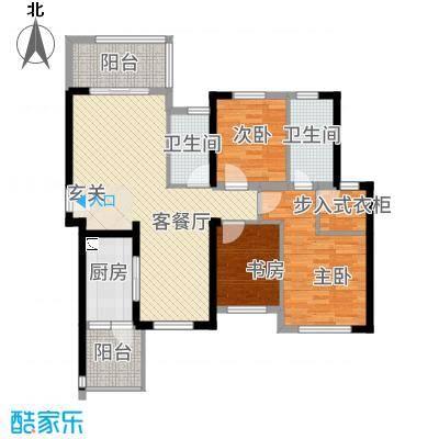 海峡国际湾区128.15㎡1栋2栋4、5号户型3室2厅2卫