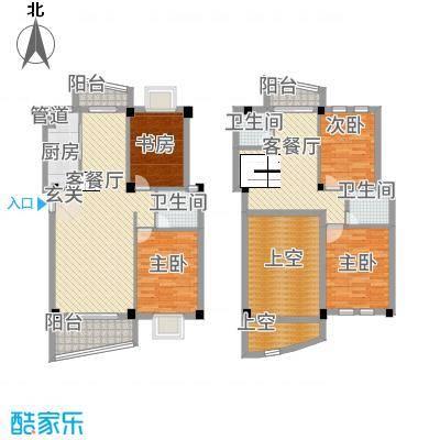 泉南国际新城114.20㎡D101户型4室2厅3卫1厨
