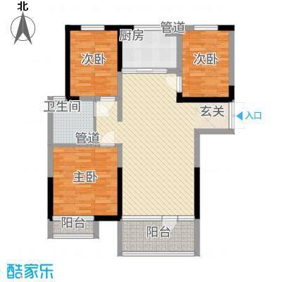 上城国际4136.20㎡户型4室2厅1卫1厨