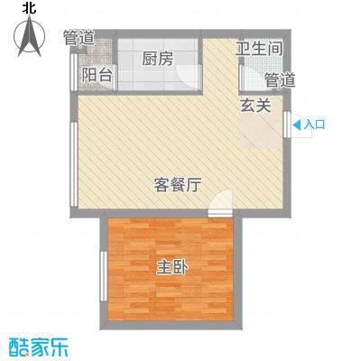 华溪龙城二期2361.20㎡A2A3户型1室2厅1卫1厨