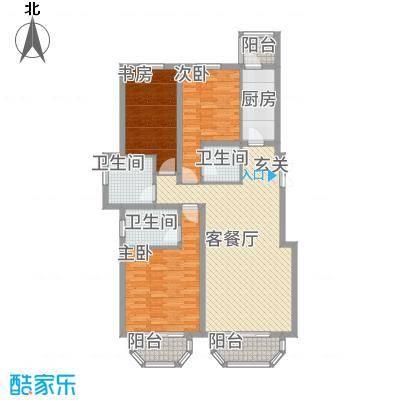 罗马世纪城3133.72㎡3G+户型3室2厅3卫1厨