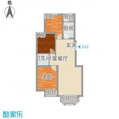 罗马世纪城321.52㎡3B户型2室2厅1卫1厨