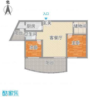 自在山居3.20㎡户型3室1厅1卫1厨
