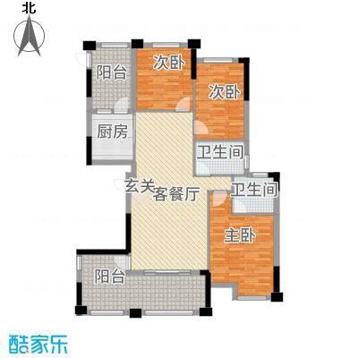金融街中央领御36135.77㎡3-6号栋B2户型3室2厅2卫1厨