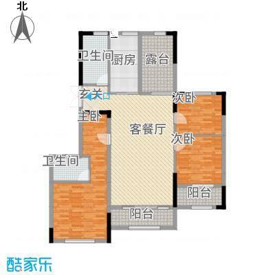 湘水郡8313.58㎡8-3户型