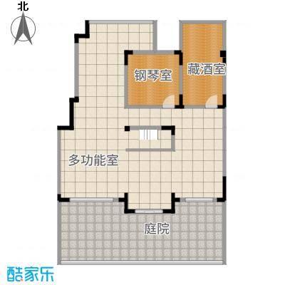 源山别院162.20㎡洋房地下室户型2室4厅