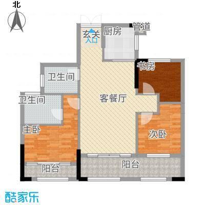 湘水郡6212.42㎡6-2户型
