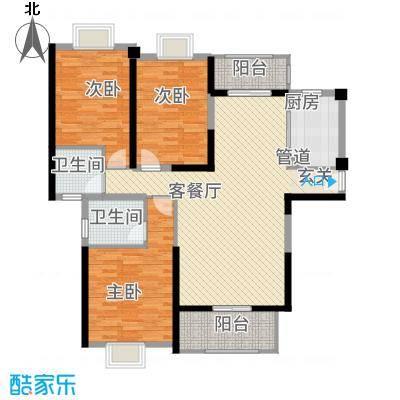 新美居海湾广场3137.20㎡3户型3室2厅2卫1厨