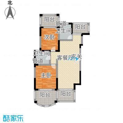 南太武高尔夫澎湖湾135.20㎡58-59栋户型4室2厅2卫1厨